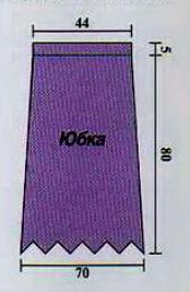 Выкройка ажурная вязанная юбка крючком