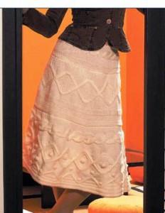 юбка спицами со схемами вязания