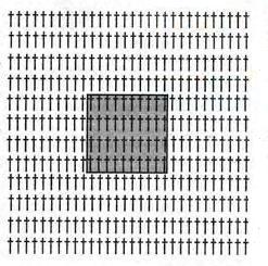 Схема вязания для юбки из квадратов