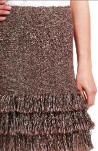 вязаная юбка спицами для начинающих вязальщиц фото