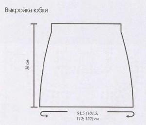 Как сшить летнюю юбку из шифона. . Выкройки Фото: 6 Юбки -клеш с перепадом длины сейчас очень