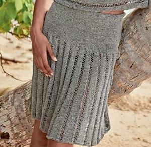 вязаные юбки спицами вязаные юбкиру
